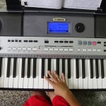 500-Miles-Tune-Played-In-Yamaha-PSR-I455-Digital-Key-Board