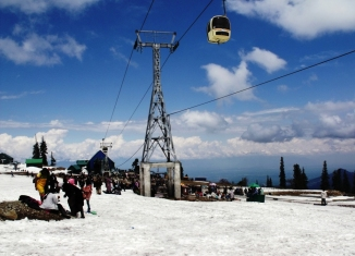 Gulmarg Gondola at Kashmir India