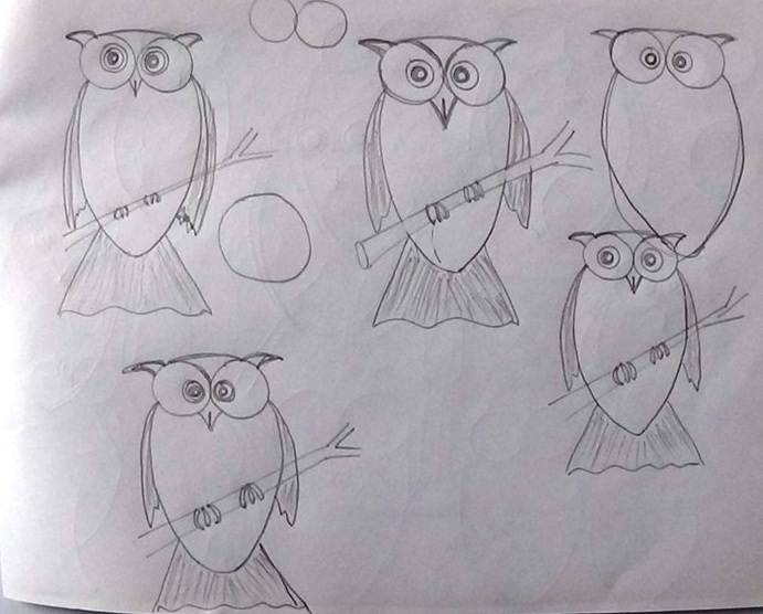 Practice to Draw An Owl